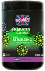 Ronney Professional Mask Keratin Complex Rebuilding Therapy For Brittle And Thin Hair 1000 ml