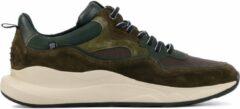 Floris van Bommel 16269 Sneakers men Maat: 42,5 (8+) groen 25 darkgroen suede