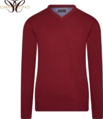 Cappuccino Italia - Heren Sweaters Pullover Red - Rood - Maat L