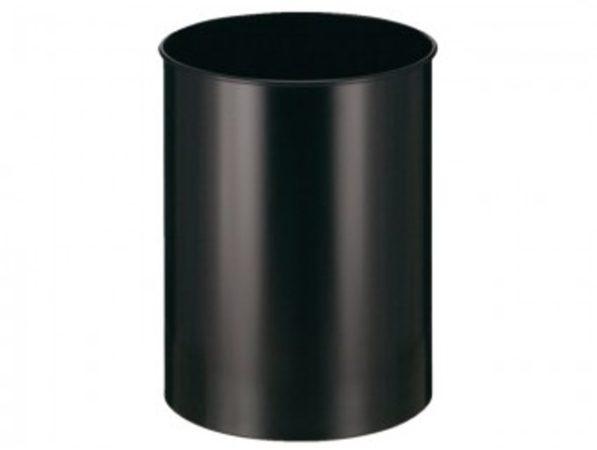 Afbeelding van Vepa Bins Papierbak Vepabins Rond 33.5cm 30liter Zwart
