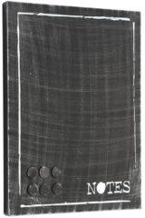 LABEL51 - Memobord 36x3x46 cm - Industrieel - Zwart