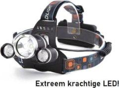 Witte LEDS Grundig LED Hoofdlamp - Spatwaterdicht