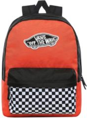 Vans Realm Backpack paprika/checkerboard backpack