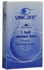 Unicare Contactlenzen 1pack -4.75