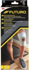 Witte FUTURO™ kniesteun voor stabilisatie Medium, 46164DAB