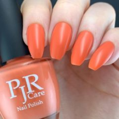 Koraalrode PJR Care Nail Polish - Time is on my side | 10 FREE & VEGAN