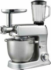 Royalty Line 3-in-1 7,5 liter keukenmachine 2100 watt zilver