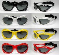 Glogglz Zwembril Rayz Polycarbonaat Rood/grijs One-size