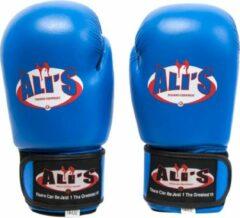Ali's fightgear bokshandschoenen bg sp blauw - 12 oz - M