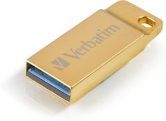 Gouden Verbatim Metal Executive 16GB USB 3.0 (3.1 Gen 1) USB-Type-A-aansluiting Goud USB flash drive