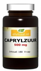 How2behealthy Elvitaal Caprylzuur 500 mg 180 tab