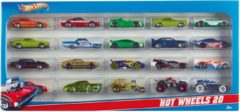 Mattel Hot Wheels Cadeauset met 20 Auto's