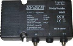 Schwaiger BN8699 531 Zweigeräteverstärker (2x 18 dB)