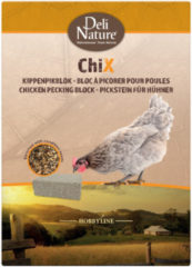 Deli Nature Chix Kippenpikblok - Kippenvoer - 1 kg