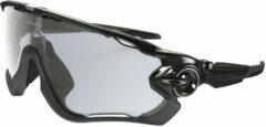 Grijze Oakley Jawbreaker zonnebril met fotochromatische glazen - Zonnebrillen