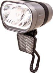 Zilveren Spanninga Axendo Fiets koplamp - 80 lux - E-bike