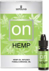 Sensuva On for Her Hemp Oil Infused Arousal Oil 5 ml Large Box