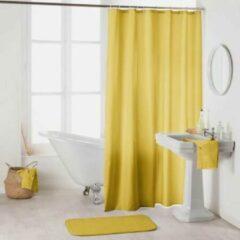 Gele Zethome | Douchegordijn - Shower Curtain | 180x200 | Honing | One Stk | Polyester | Inclusief Ringen | 1800688