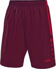 Bordeauxrode Jako - Shorts Turin - bordeaux/rood - Maat 140