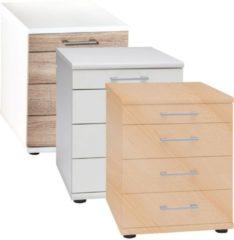 Büro Container mit Schubladen Schubladenschrank Bürocontainer Büroschrank Omegos 218 Sideboard VCM sonoma-eiche