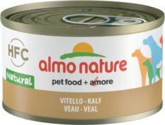 Almo Nature - Hondenvoer - Natvoer - Kalfsvlees - Adult - 24 x 95 gram