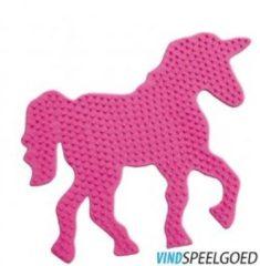 Roze SES Beedz Strijkkralen - Legbord Fantasie Paard