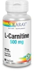 Solaray L-carnitine 500 Mg (60vc)