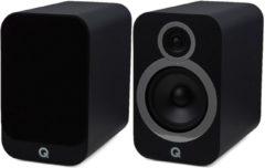 Q Acoustics 3030i Hifi Boekenplank Luidspreker - Mat Zwart (per paar)