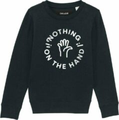 Cheaque NOTHING ON THE HAND ZWART KIDS SWEATER