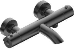 Adema Calypte thermostatische badkraan opbouw gun metal 13131420496
