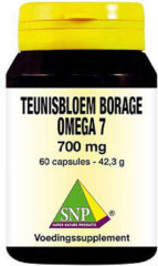 Snp Teunisbloem And Borage Omega 7 700 Mg Capsules