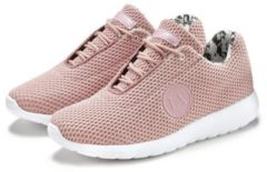 Roze LASCANA sneakers met sterretjes