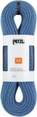 Petzl Contact 9.8mm soepel en licht enkeltouw 70m Blauw