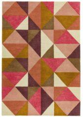 Eazy Living Easy Living - Reef-Kite-Pink-multi Vloerkleed - 160x230 cm - Rechthoekig - Laagpolig Tapijt - Retro - Meerkleurig