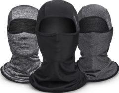 ROCKBROS Ice Silk Fabric Cycling Headgear Mask Face Mask Multifunction Scarf Summer Anti-UV Face Mask Neck