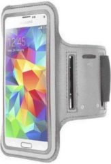 Samsung Galaxy Note 5 sports armband case Zilver Silver