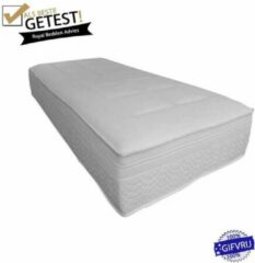 Witte Royalbedden.nl Matras platinum+ - Pocket koudschuim/traagschuim - 80x220