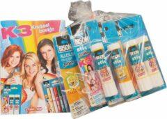 Bison - Lijm assortiment kids - Set - 8 stuks + GRATIS knutselboekje
