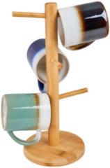 Xenos Mokkenrekje - bamboe - 32 cm