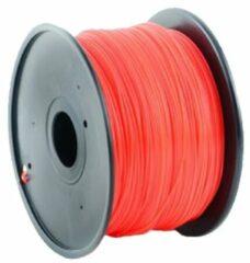 Rode Gembird3 HIPS plastic filament voor 3D printers, 3 mm diameter, rood