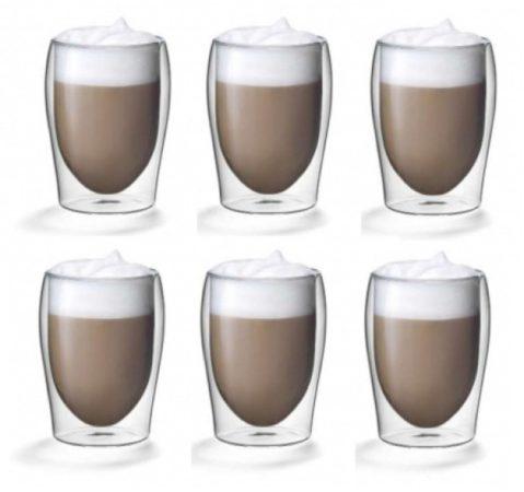 Afbeelding van Transparante ISOGLAS Dubbelwandige glazen 0,30L. set van 6
