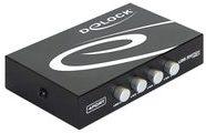 Delock Switch USB 2.0 4 port manual - USB-Umschalter für die gemeinsame Nutzung von Peripheriegeräten - 4 x USB 2.0 87634