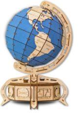 Eco-Wood-Art modelbouwpakket The Blue Globe hout 393-delig