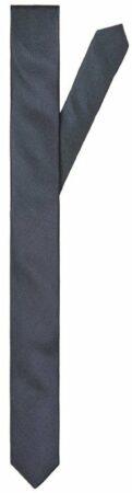 Afbeelding van Donkerblauwe Selected homme zijden stropdas