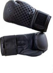 Hybride bokshandschoenen BXR | matzwart | 14 oz