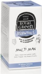 Royal Green Royal groen Multi Man Tabletten 120st