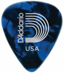 D'Addario 1CBUP6-10 blue pearl celluloid plectra 10 pack heavy