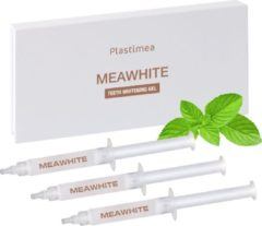 Witte PLASTIMEA Tandenbleekset - Meawhite Navulling