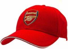 Rode Arsenal FC Adult Super Core Baseball Cap (Red)