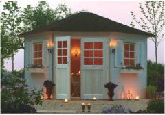 Solid tuinhuis Nancy hout 7,88m² 305x305cm